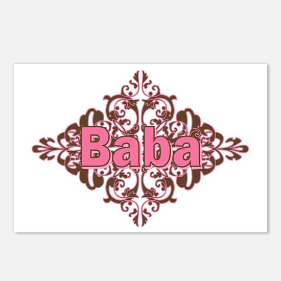 Personalized Baba Postcards (Package of 8)