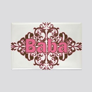 Personalized Baba Rectangle Magnet