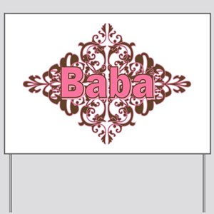 Personalized Baba Yard Sign