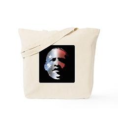 Obama Stars and Stripes Tote Bag