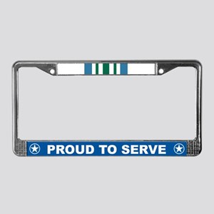 Joint Commendation License Plate Frame