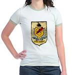 USS HIGBEE Jr. Ringer T-Shirt