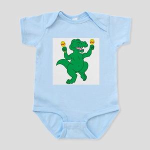 Dancing Gator Infant Creeper