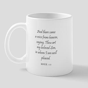 MARK  1:11 Mug