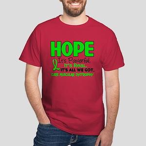 HOPE Muscular Dystrophy 1 Dark T-Shirt