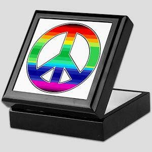 Peace Sign 2 Keepsake Box