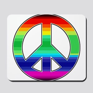 Peace Sign 2 Mousepad