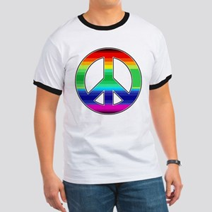 Peace Sign 2 Ringer T