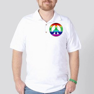Peace Sign 2 Golf Shirt