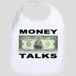 Money Talks Bib