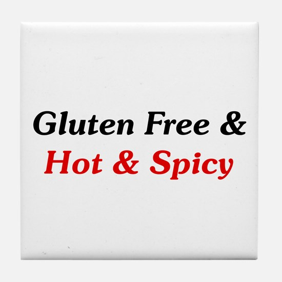 Gluten Free & Hot & Spicy Tile Coaster