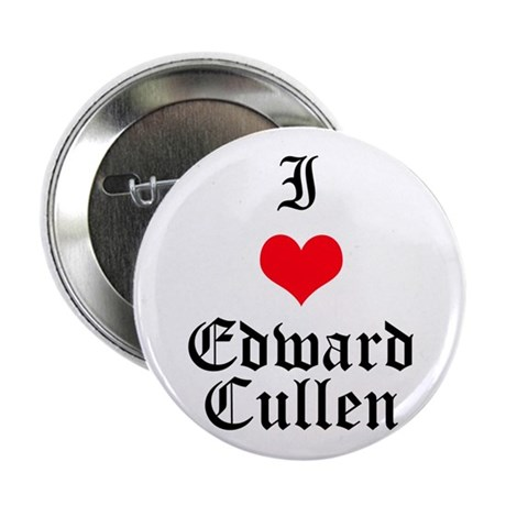 "I Heart Edward Cullen 2.25"" Button"