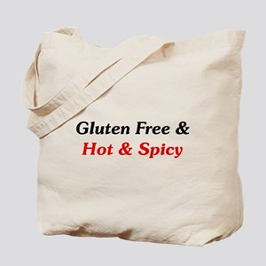 Gluten Free & Hot & Spicy Tote Bag