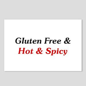 Gluten Free & Hot & Spicy Postcards 8 Pack