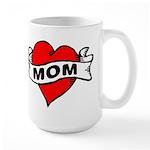 I LOVE MOM Large Mug