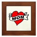 I LOVE MOM Framed Tile