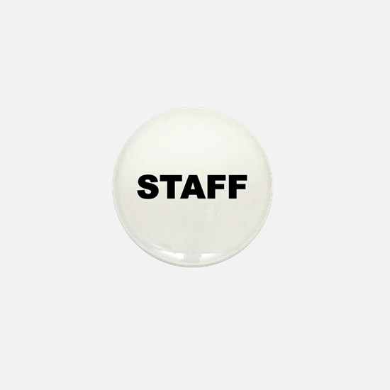 Staff Mini Button