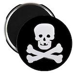 Skull and Crossed Bones Magnet