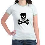 Skull and Crossed Bones Jr. Ringer T-Shirt