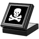 Skull and Crossed Bones Keepsake Box