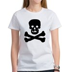 Skull and Crossed Bones Women's T-Shirt