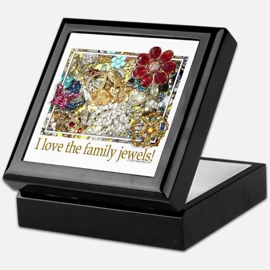 I love the family jewels Keepsake Box