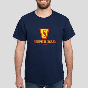 Matching Super Dad Super Kid Dark T-Shirt