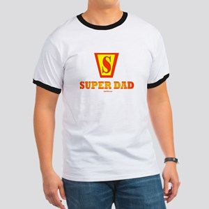 Matching Super Dad Super Kid Ringer T