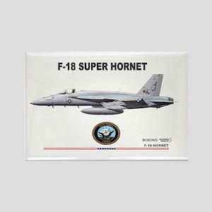 F/A-18 Hornet Rectangle Magnet