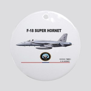 F/A-18 Hornet Ornament (Round)
