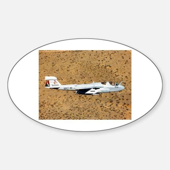 EA-6 Prowler Oval Decal