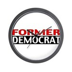 Former Democrat Wall Clock