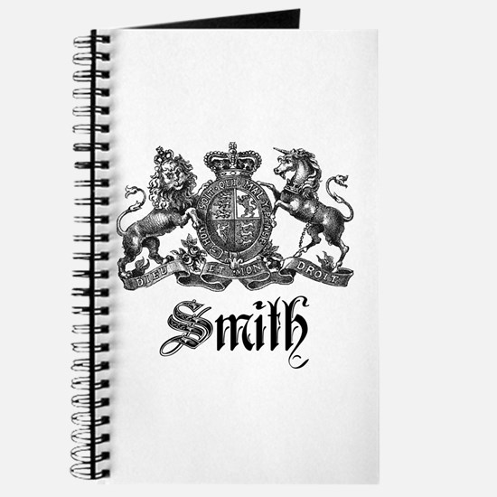 Smith Family Name Crest Journal