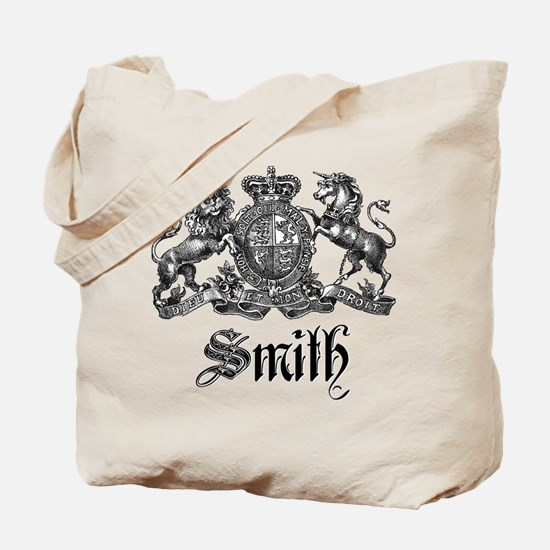 Smith Family Name Crest Tote Bag
