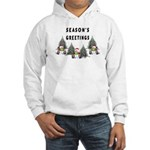 Christmas Greetings Hooded Sweatshirt