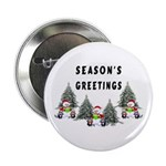 "Christmas Greetings 2.25"" Button (10 pack)"