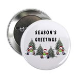 "Christmas Greetings 2.25"" Button"