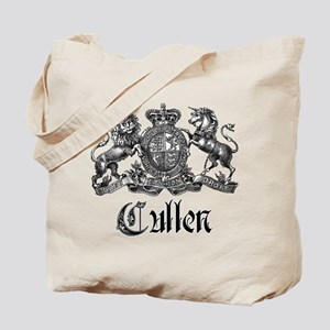 Cullen Family Name Crest Tote Bag