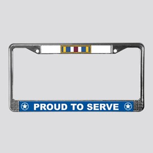 Meritorious Unit License Plate Frame