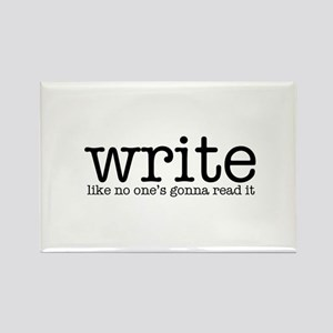 Writing Life Rectangle Magnet