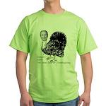 New Turkey Day Green T-Shirt