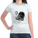 New Turkey Day Jr. Ringer T-Shirt