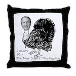 New Turkey Day Throw Pillow