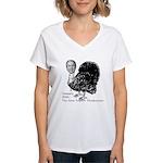 New Turkey Day Women's V-Neck T-Shirt