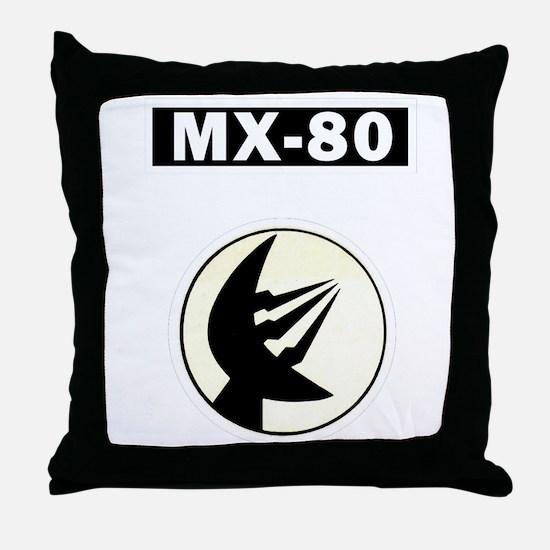 MX-80 Throw Pillow