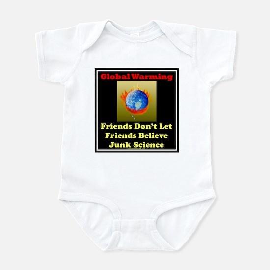 Global warming-junk science Infant Bodysuit