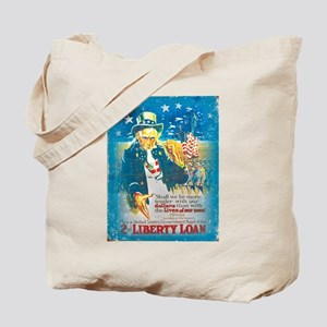 Uncle Sam Liberty Loan Tote Bag