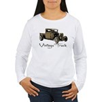 Vintage Truck- Women's Long Sleeve T-Shirt