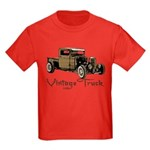 Vintage Truck- Kids Dark T-Shirt