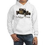 Vintage Truck- Hooded Sweatshirt